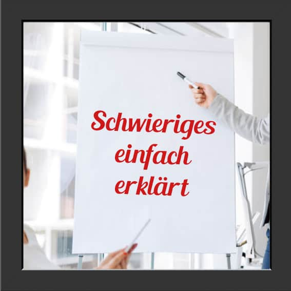Verständliche Erklärung der Werbeagentur Kommercial aus Düsseldorf