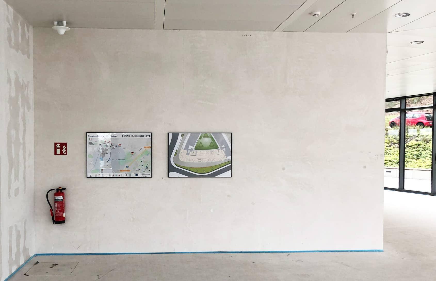 Umgebungskarte Triangulum in Bürogebäude