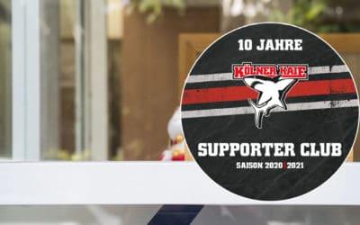 Wir unterstützen die Kölner Haie